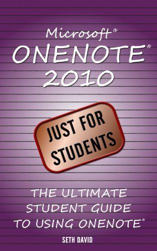 Microsoft Onenote 2010 Just For Students By Seth David Http Www Dp B00am4hva6 Ref Cm Sw One Note Microsoft Teaching Technology Blended Learning