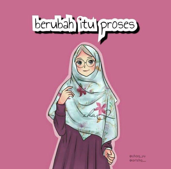 Muslimah Pinterest Islam Muslim Islamic 300 Gambar Kartun Bercadar Cantik