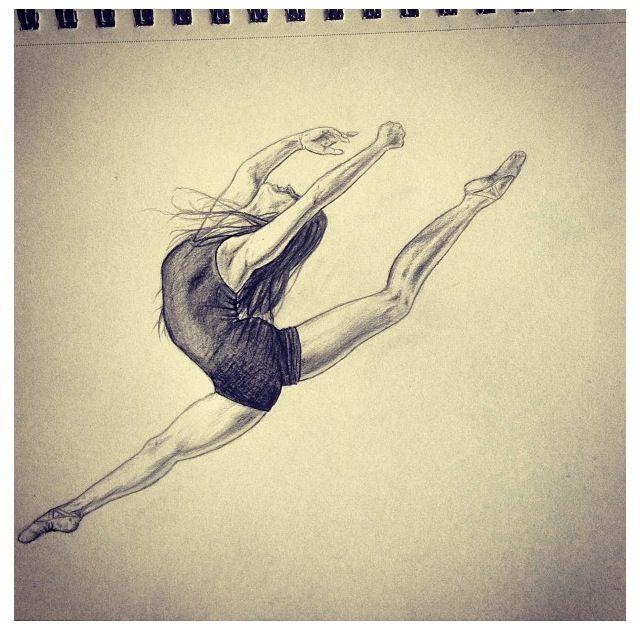 Dancer Sketch Ballet Drawings Dancing Drawings Dance Art
