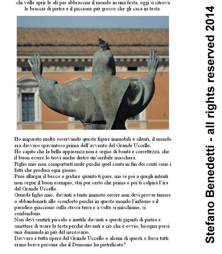 Pagina estratta dal nuovo #libro di #Stefano #Benedetti: #Krenf. Leggi l'anteprima, le recensioni e i commenti #gratuitamente:  http://ilmiolibro.kataweb.it/schedalibro.asp?id=1099247
