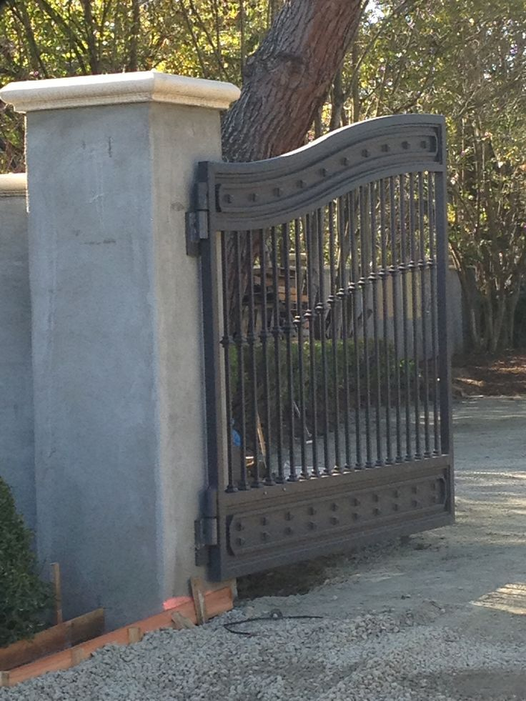 Driveway Gate, House