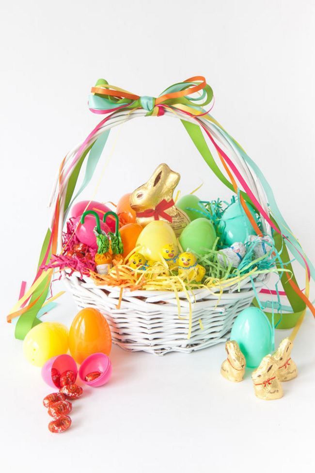 Colorful modern easter ideas for a festive celebration easter easter rainbow easter basket negle Gallery