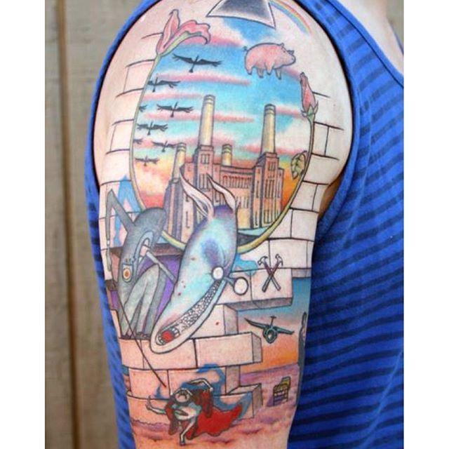 George Floyd Tattoo: Pink Floyd Tattoo, Pink Floyd, Floyd