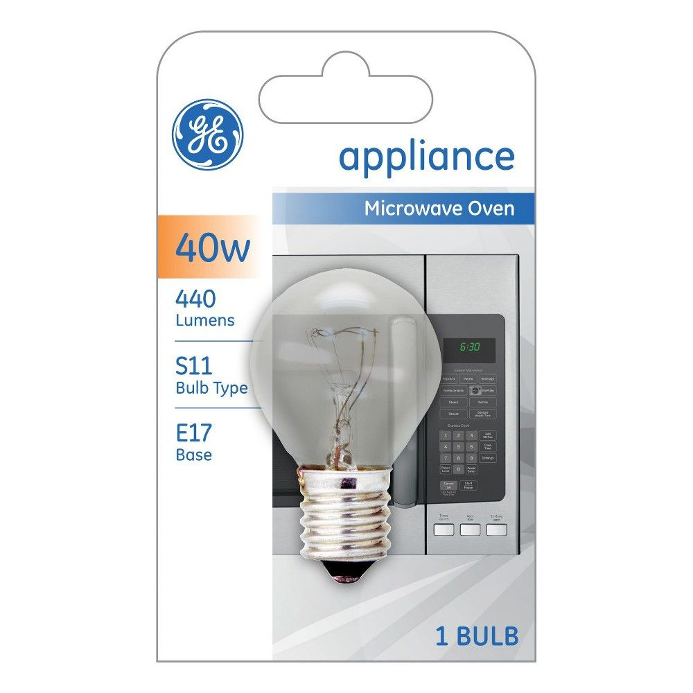 Ge 40 Watt High Intensity Light Bulb