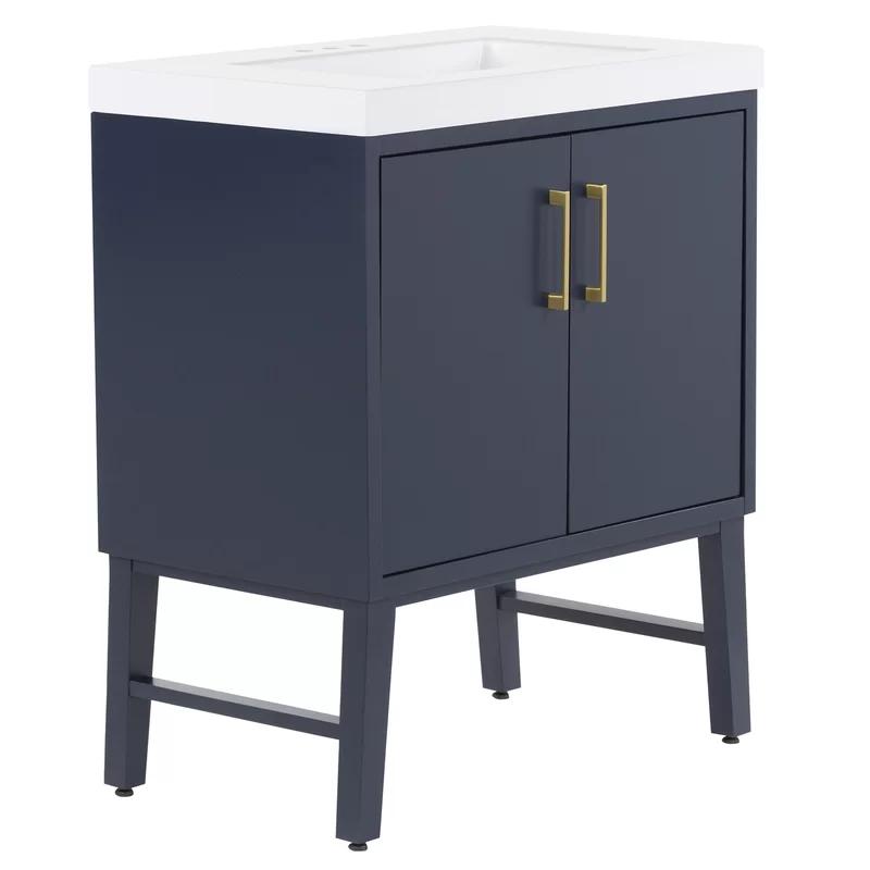 Friedland 30 5 Single Bathroom Vanity Set Joss Main In 2020 Single Bathroom Vanity Vanity Set White Bathroom Rug