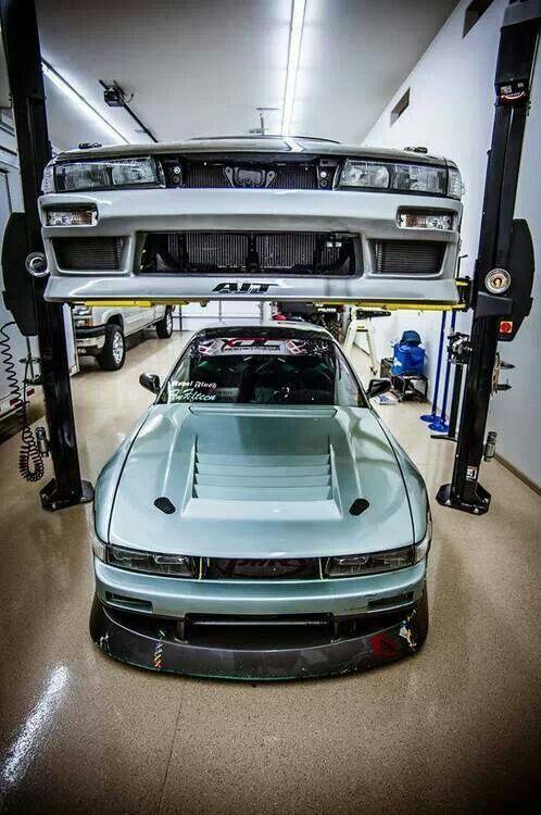 nissan silvia garage s13 coupe jdm cars drifting cars cars. Black Bedroom Furniture Sets. Home Design Ideas