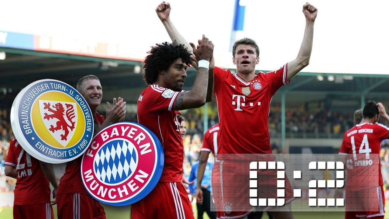 Bundesliga 2013/14: E. Braunschweig- Bayern München 0:2
