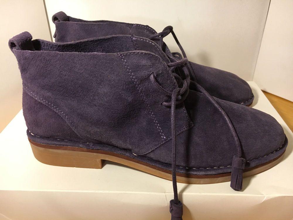 Hush Puppies Size 11 Women's Cyra Catelyn Boots Plum