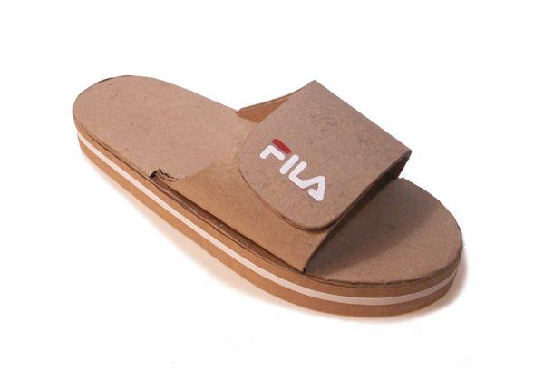 781c81279c79b5 Ballet Shoes · Cardboard Fila sandal Fila Sandals