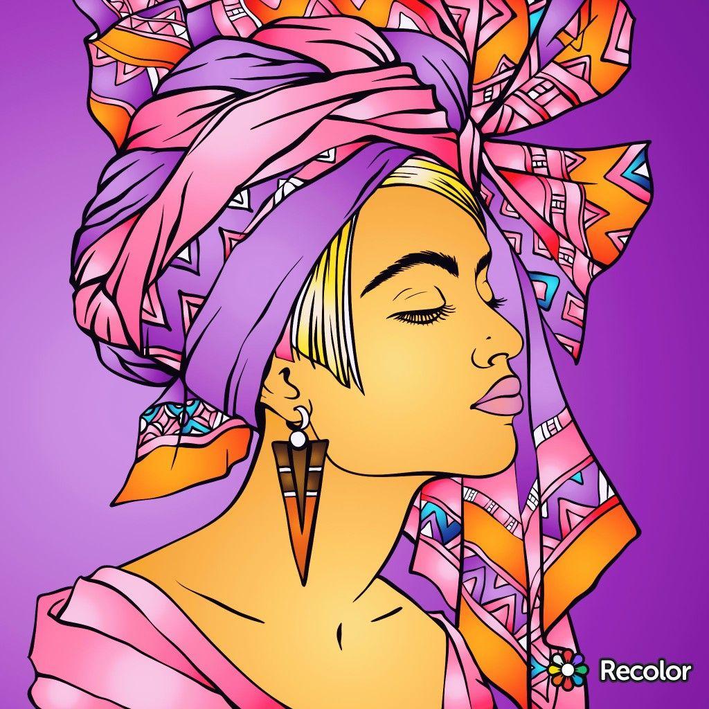 Pin von Loretha auf Recolor app Pop Art | Pinterest