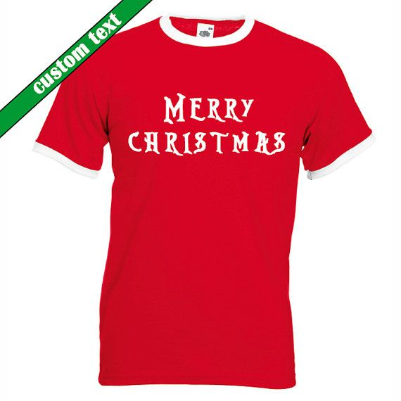 Custom Christmas Shirt Christmas t Shirt by ToniKaramanoff on Etsy