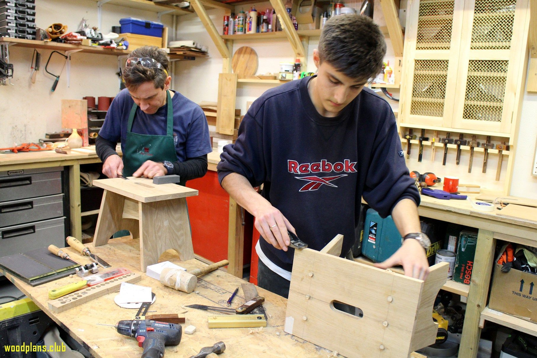 pinleah simons on woodworking school in 2019