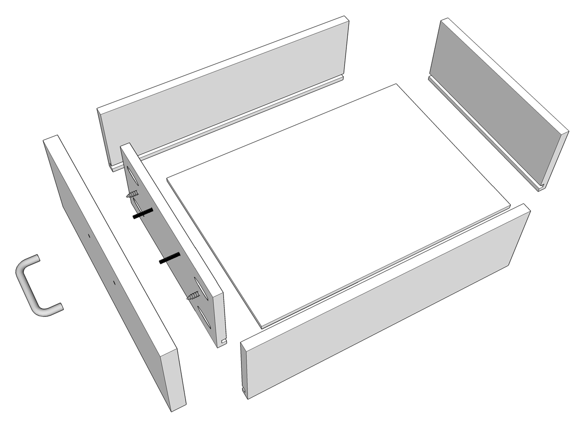 Tom Builds Stuff: How To Build Drawer Boxes