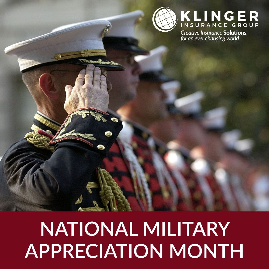 May is national military appreciation month bob klinger