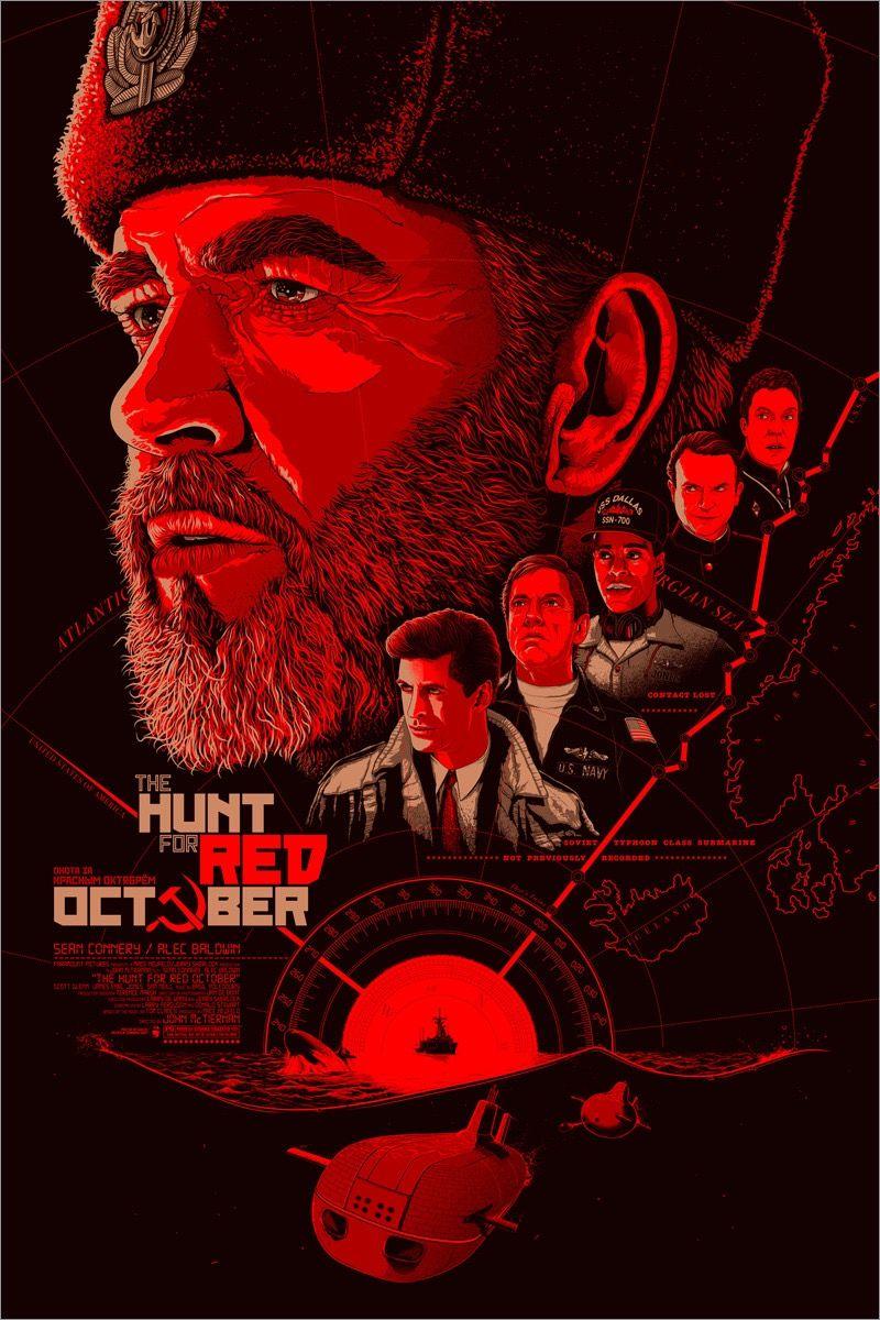 The Hunt For Red October Cine Wallpaper Carteles De Cine Minimalistas Poster De Peliculas