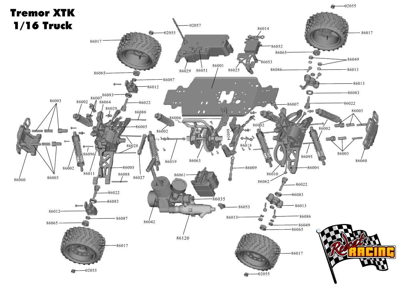Remote Control Car Parts
