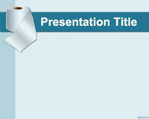 free toilet paper powerpoint template objects powerpoint templates