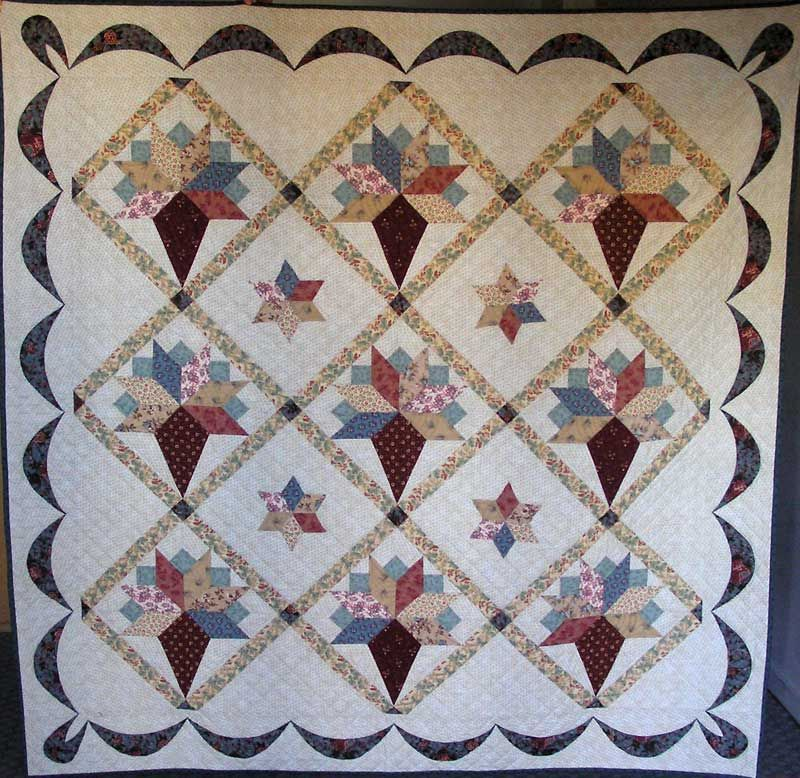 I'm pleased to give a follow up on our Exhibition 2010 and let you see the prize winning quilts for this year. Congratulations and well done to all the members whose quilts appear below. and the wi...