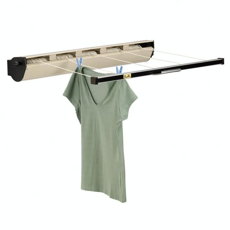 Retractable Wall Mounted Clothes Drying Rack Wall