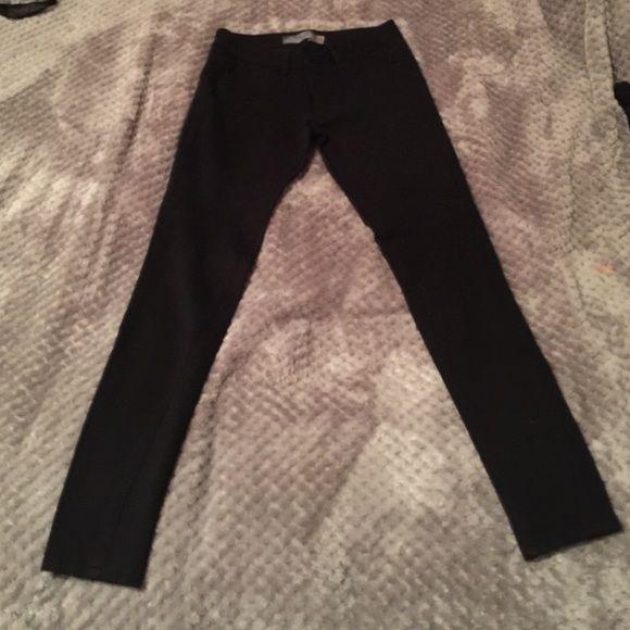 Paige jeggings Black Paige twill jegging legging pants Paige Jeans Pants Skinny