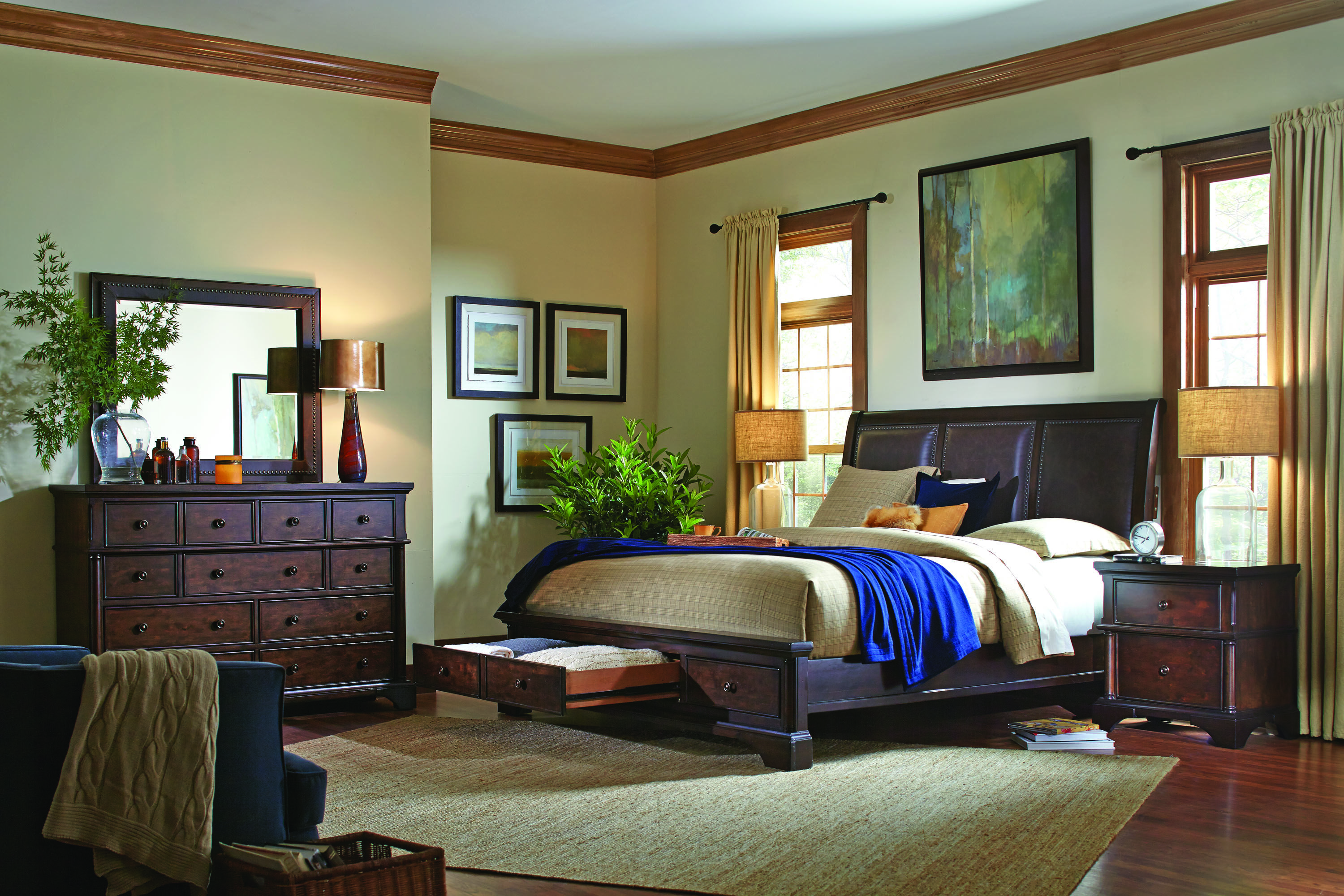 Godby Home Furnishings Noblesville  Carmel and Avon. Bancroft  Bedroom by Aspen  Godby Home Furnishings Noblesville