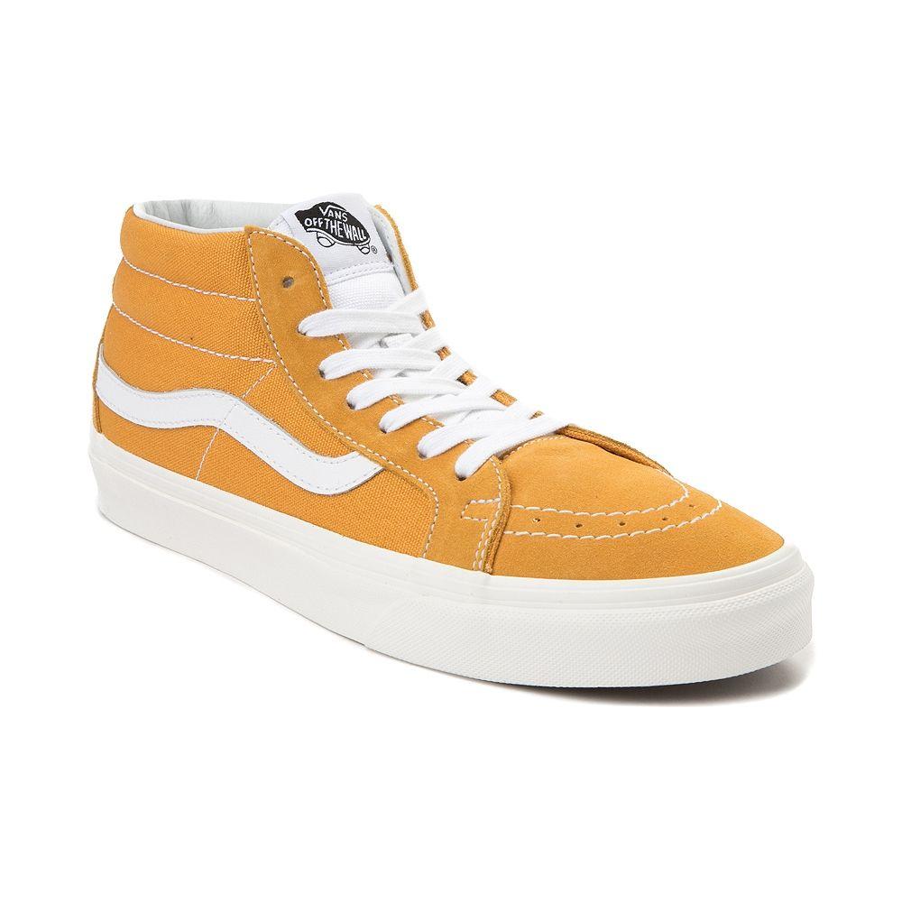 Vans Sk8 Mid Skate Shoe - Sunflower