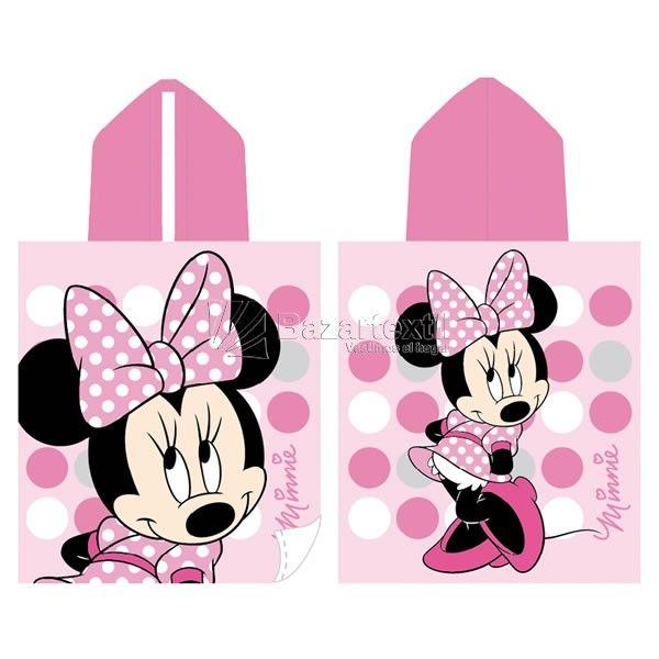 Toallas Capucha Minnie Pink Dots - Bazartextil.com