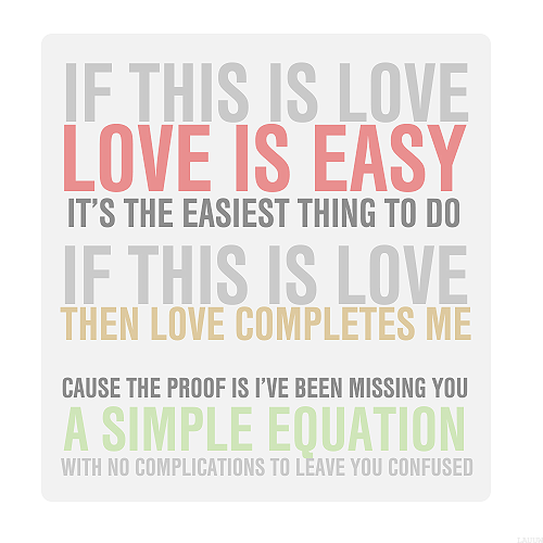 Love is Easy - McFLY