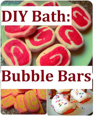 how to make your own bubble bath bar