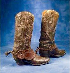 Antique Cowboy Boots Shoes