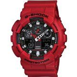 Casio - G-Shock watch X-Large Series - GA-100B-4A - #watches #brandnamewatches #womenswatches -   The Big Combination watch from G-Shock was designed and engineered for rough and rugged activities. This watch is shock and magnetic resistant as well a