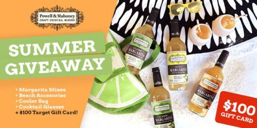 Win a $100 Target gift card & Summer Prize Pack! {US