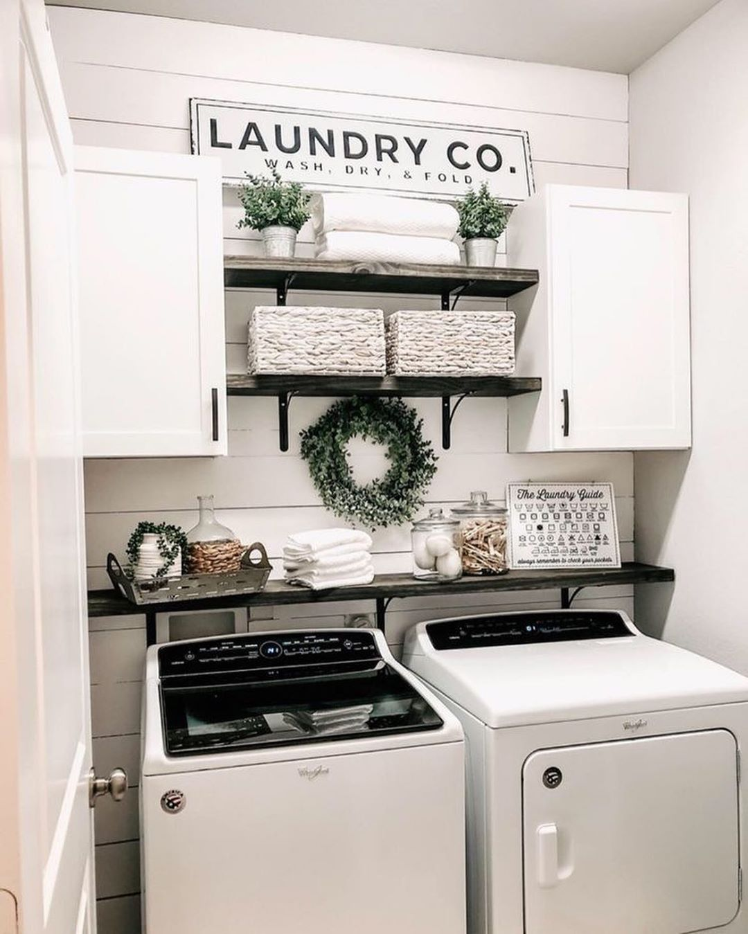 50 Clever Laundry Room Ideas That Are Practical And Space In 2020 Diy Laundry Room Signs Laundry Room Signs Laundry Room Remodel