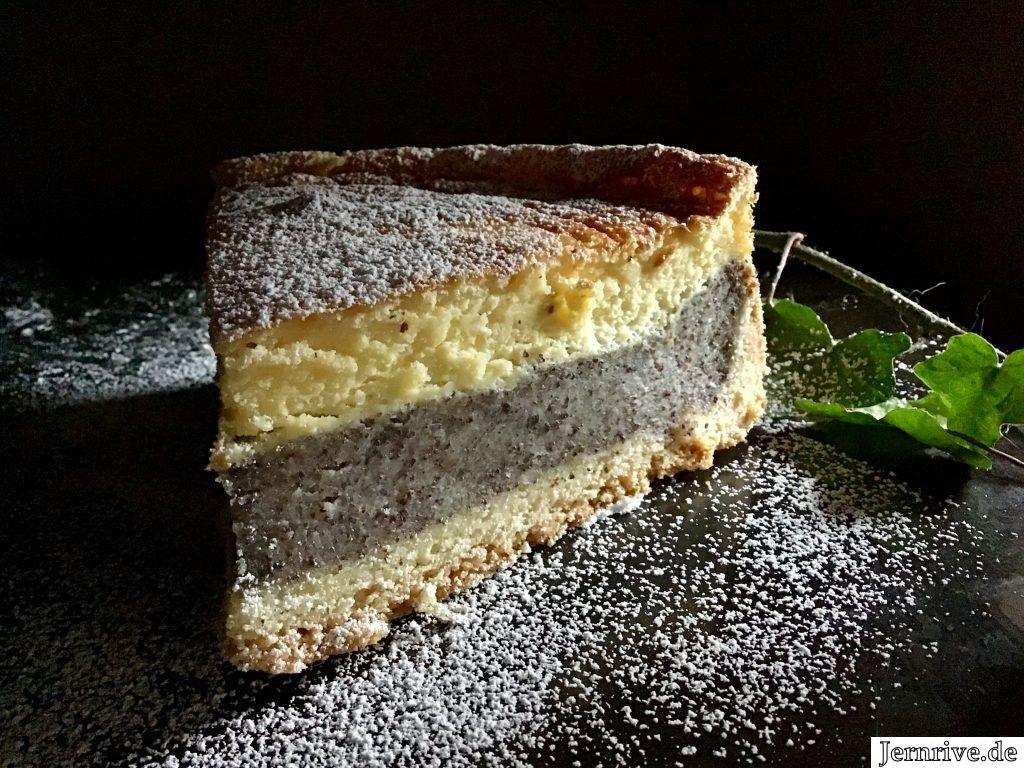 Mohnkuchen mit Schmand - Aus meinem Kuchen und Tortenblog