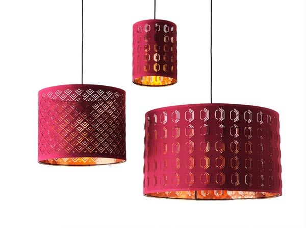 Color Of The Year 2015 Marsala Lamp Shades Raspberry