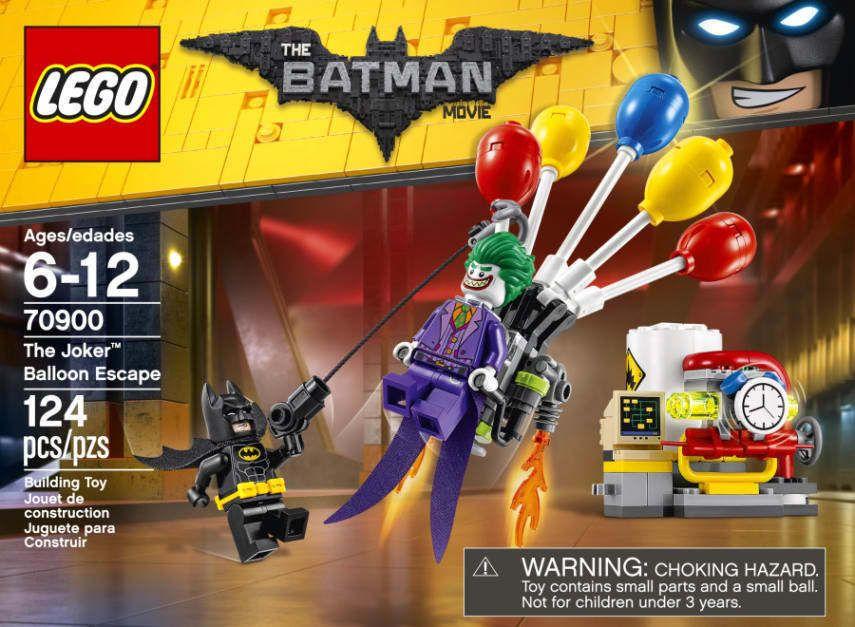 ****NEW LEGO BATMAN MOVIE SET 70900 SEALED**** THE JOKER BALLOON ESCAPE