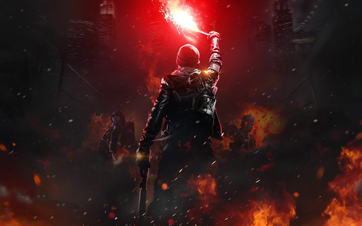 Download Wallpapers Tom Clancys The Division PlayStation 4 Xbox One Windows Poster Art Characters Genre TPS
