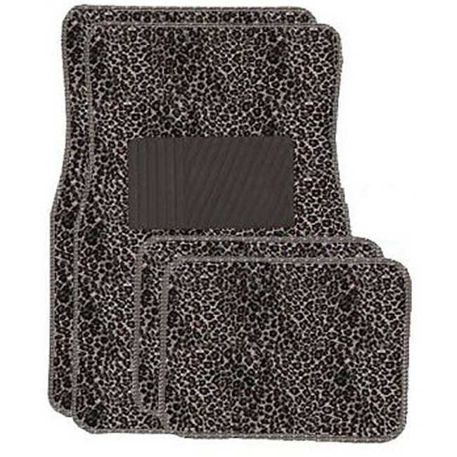Cheetah Tan 4 Piece Car Floor Mats Www Cardecor Com Car Floor Mats Animal Print Carpet Floor Mats