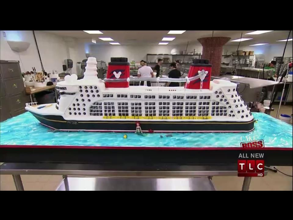 Cake Boss Disney Cruise Ship Cakeonly one of his intricate