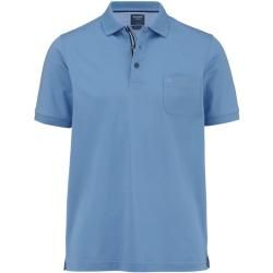 Photo of Olymp casual polo shirt, modern fit, blue, M Olymp
