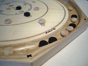 Beautiful Crokinole board, made in Canada.