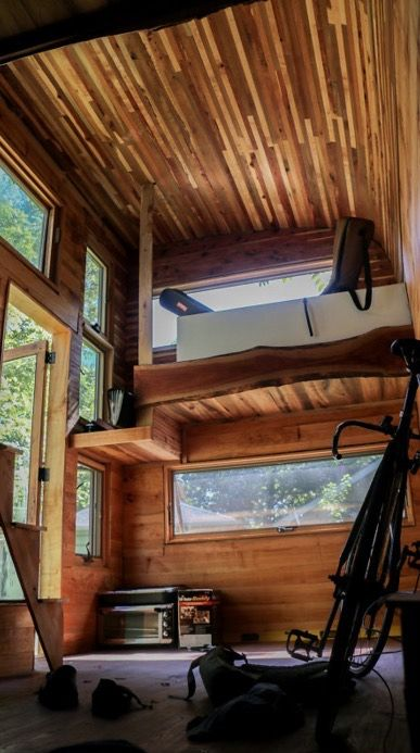 Miraculous Traveling Musician Builds Music Studio Tiny House Tiny Complete Home Design Collection Papxelindsey Bellcom