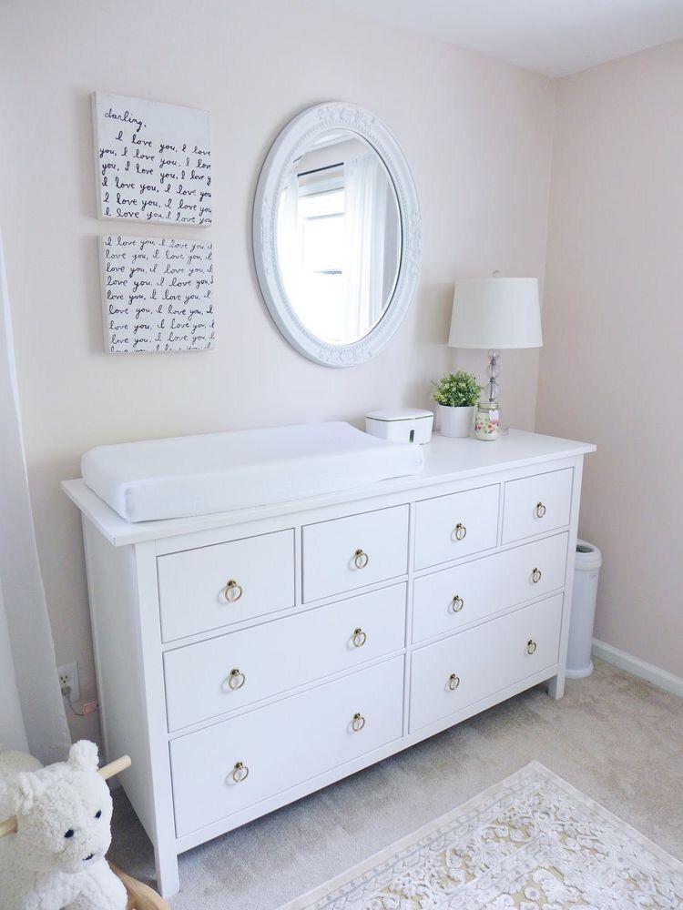 Infant Dresser Organization Drawers
