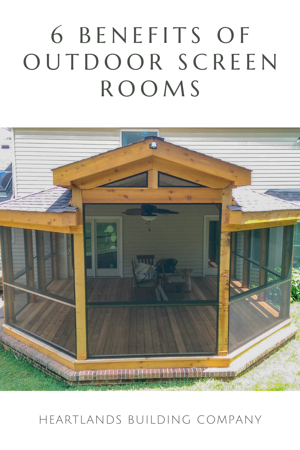 6 Benefits Of Screen Rooms In 2020 Outdoor Screen Room Backyard Patio Designs Mobile Home Porch
