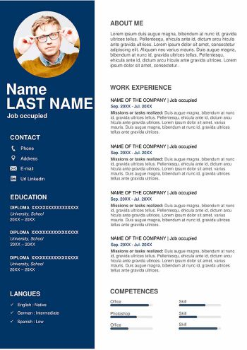 Free Downloadable Resume Template in Word 2020