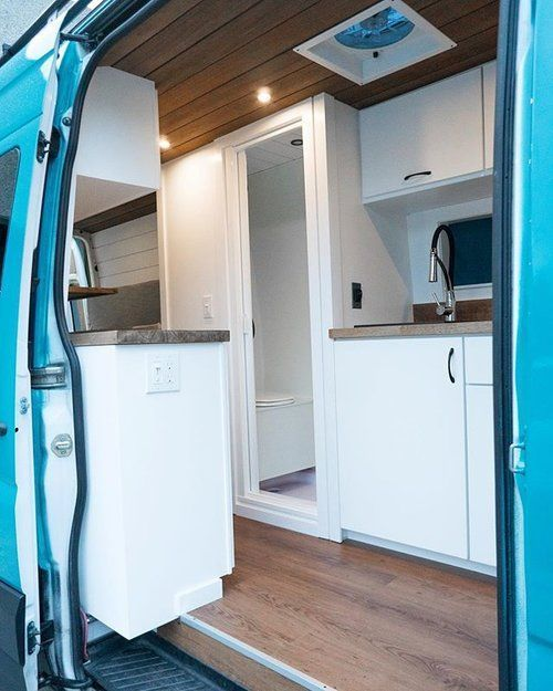 Photo of DIY Custom Sprinter Conversion Van Tour with Bathroom — 40 Hours of Freedom – …