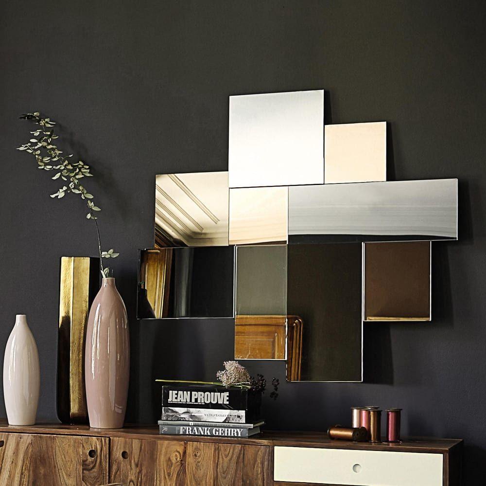 Miroir Teinte 117x108 Maisons Du Monde Wandspiegel Ankleidespiegel Dekorative Wandspiegel