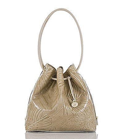 Brahmin Havana Collection Trina Drawstring Shoulder Bag Dillards