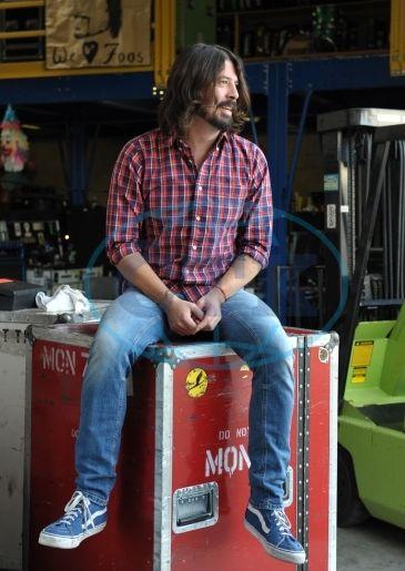 Photobank : Dave Grohl, hudebník, Foo Fighters