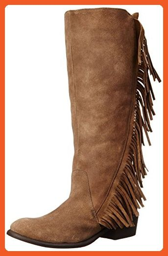 5ad390922 Roper Women's On The Fringe Western Boot, Tan, 8 M US - Boots for women  (*Amazon Partner-Link)